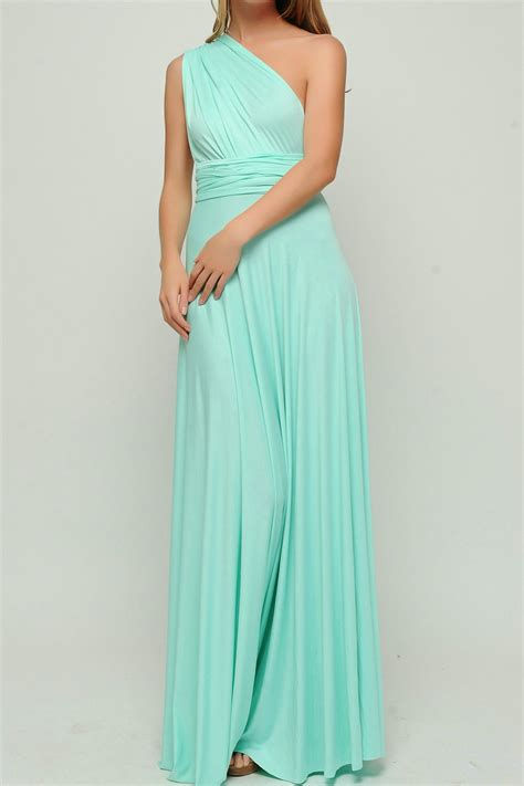 mint green infinity dress convertible dress