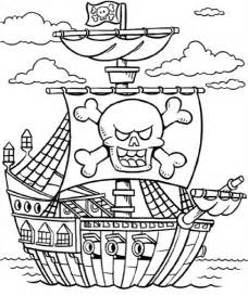 pirate coloring page free coloring pages of pirate color page