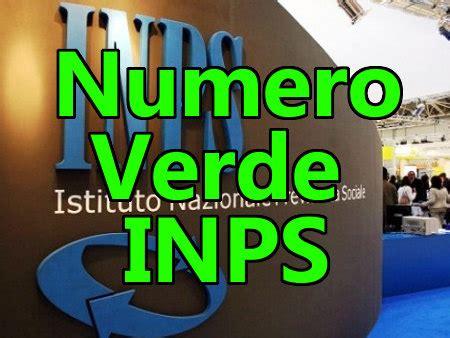 nazionale lavoro numero verde numero verde inps contatti call center e fasce orarie