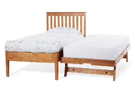 Serene Grace 3ft Single Cherry Wooden Guest Bed Frame With Cherry Wood Bed Frame