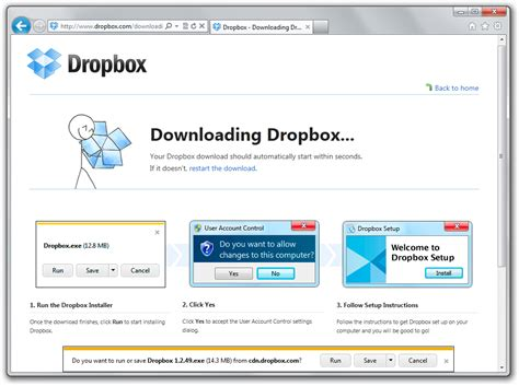 dwonload dropbox ux in the dropbox s attention to detail on