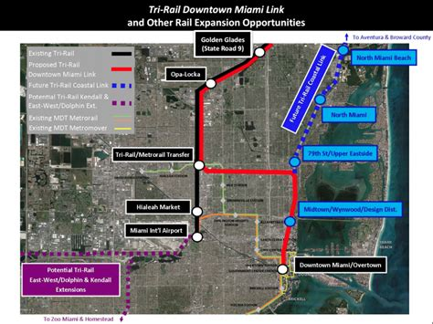 tri rail map miami dade commission approves downtown tri rail funding wlrn