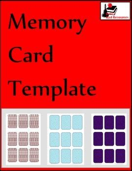larp item card template free memory card template by raki s rad resources tpt