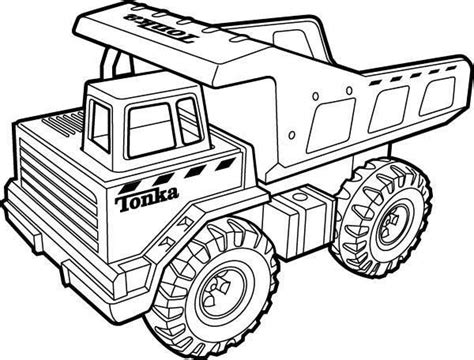 tonka truck coloring pages aa coloring pages