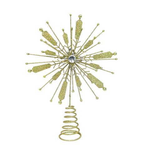 donner blitzen incorporated gold silver christmas tree