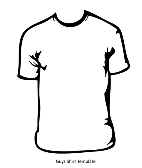 Drawing T Shirt Designs by T Shirt Drawing Template At Getdrawings Free For