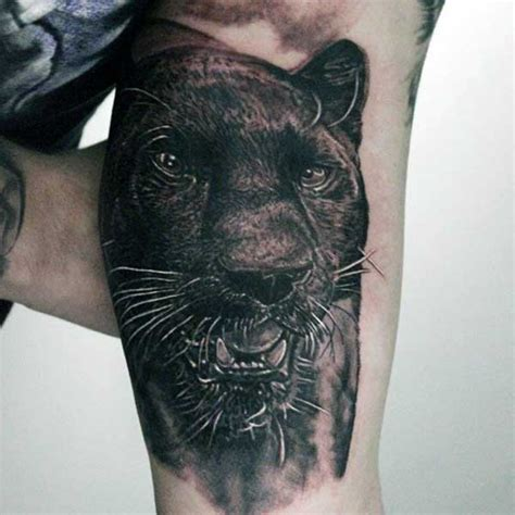 fashion tattoos for men 70 panther designs for cool big jungle cats in