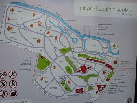 Map Of Dublin S Botanic Garden Botanic Garden Dublin Botanic Gardens Map