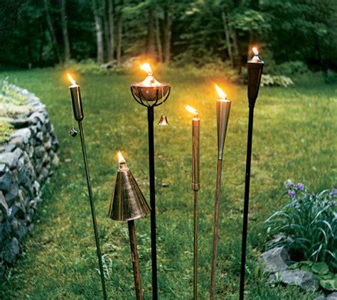 Outdoor Mood Lighting Patio Torch Lights