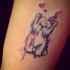minimalist yorkie tattoo the 14 coolest shih tzu tattoo designs in the world