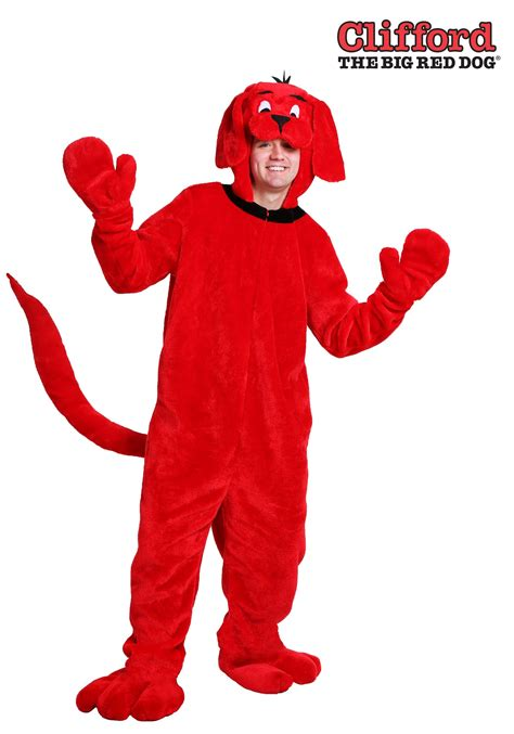 clifford the clifford the big costume for adults