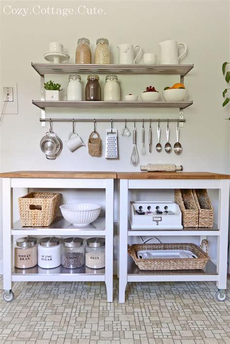 Kitchen Trolley Ideas by 25 Best Ideas About Kitchen Carts On Pinterest Ikea