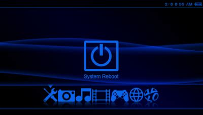 theme psp neon large original iii blue neon psp themes for 5 00 m33