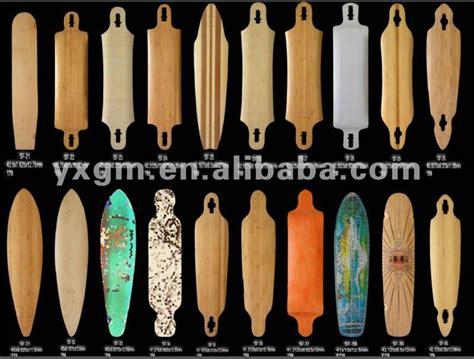 longboard decks types longboarding brett alstine webpage