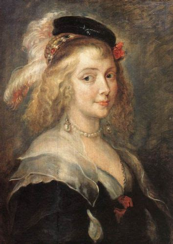 Z Painting Helena Mt by Portrait Of Helena Fourment By Paul Rubens Artilim