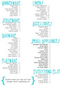 Dream List Template Tackling The Gift Registry Squirrelly Minds