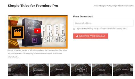 adobe premiere titles templates top 18 free adobe premiere title templates 2019 free
