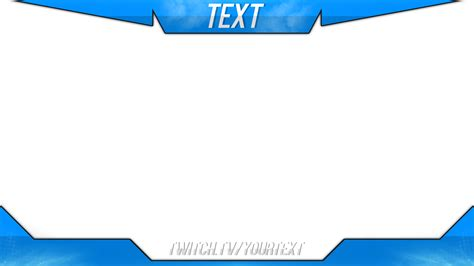 overlay template 15 twitch overlay psd images twitch