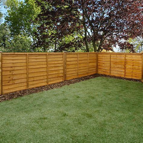 mercia ft high mm mercia waney edge lap fence panels waney edge lap elbec garden