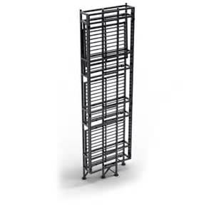 convenience concepts designs2go metal folding 4 shelf