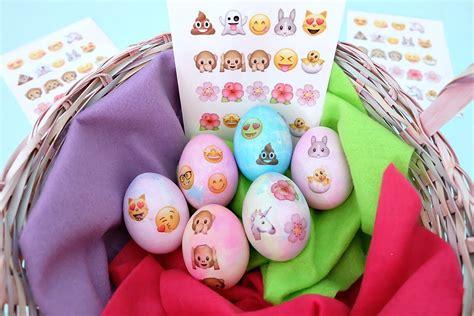 inkjet tattoo paper michaels diy emoji easter eggs with free printable hello creative