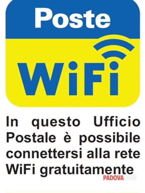 ufficio postale vigonza wifi gratuito e facile in dodici uffici postali della