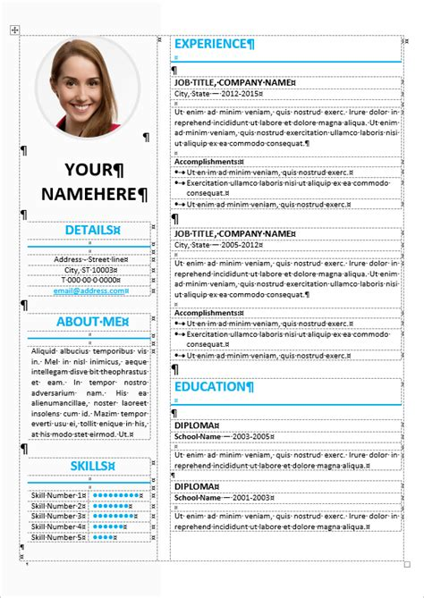 free microsoft resume templates 2015 expin franklinfire co