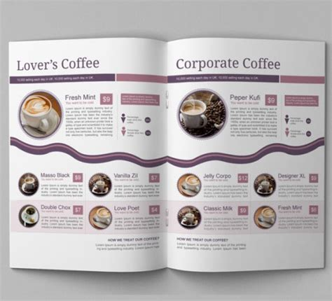 coffee shop brochure template 13 best coffee shop brochure designs wpjournals