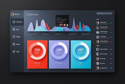 bold color bold color flat web ui elements kit download download psd