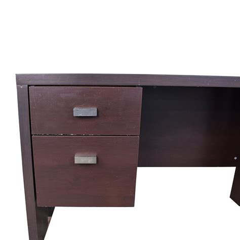 76 walmart walmart brown desk with two drawers tables
