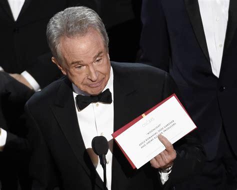 film vincitore oscar 2016 oscar la gaffe sul film vincitore tutta colpa di un