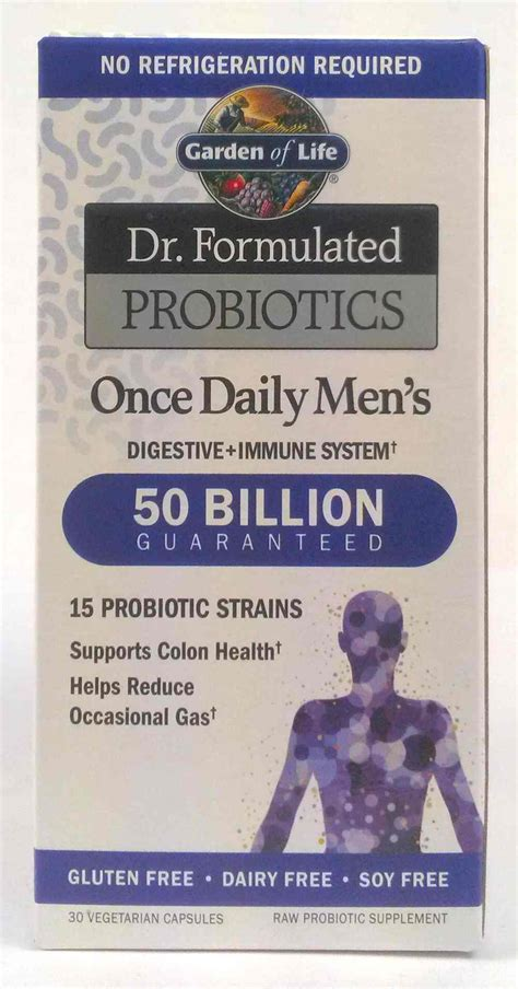 Garden Of Once Daily S Probiotic Garden Of Dr Formulated Probiotics Valley