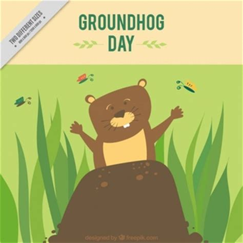 groundhog day emoji pencil drawing smiley pack vector free