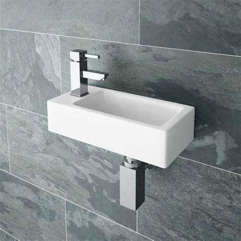 small basin rondo wall hung small cloakroom basin now at victorian
