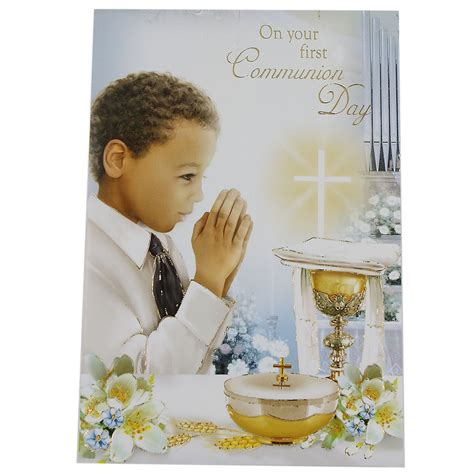 Gift Cards For Boys - boys on your first communion day gift card cachet kids