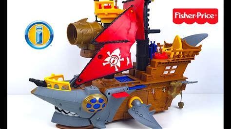barco pirata de imaginext imaginext mordedura del tiburon barco pirata tesoro