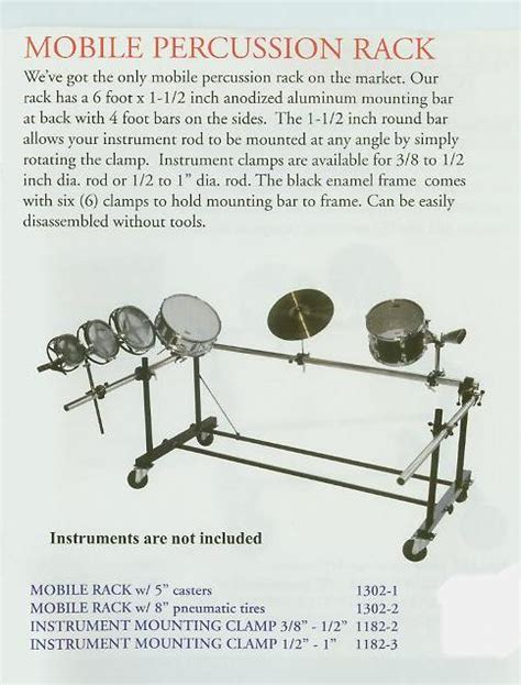 Percussion Lp372 Rack percussion rack cosmecol