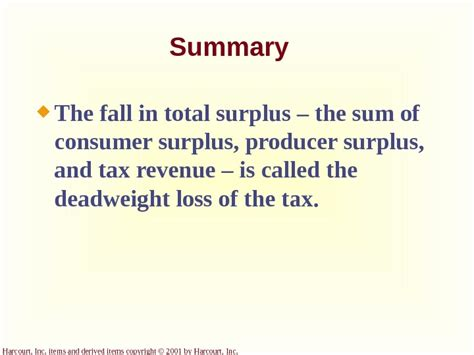 application the costs of taxation ppt video online download application the costs of taxation chapter 8 copyright
