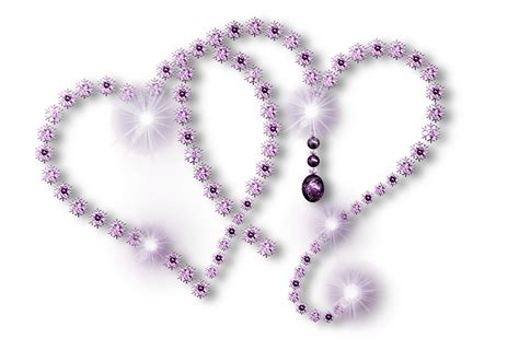 Short Vases Light Purple Heart Clip Art At Clker Clip Art Library
