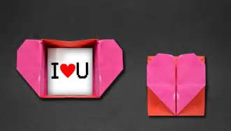 How Do You Make Paper Hearts - origami box envelope