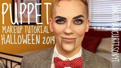 puppet linux tutorial youtube puppet makeup tutorial halloween jonathancurtisonyt