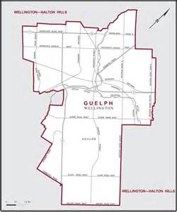 maps guelph ontario canada guelph maps corner elections canada