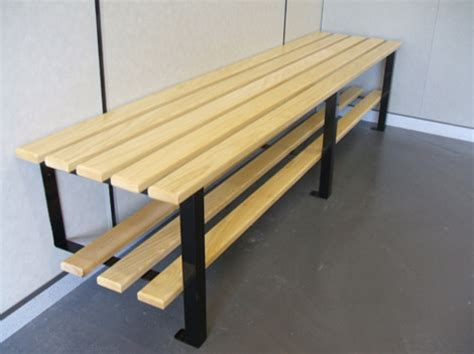 changing room benches cloakroom wall to floor fixed bench changing room benches