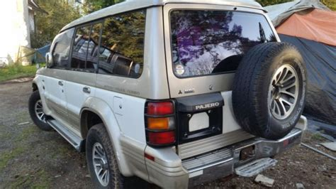 how petrol cars work 1992 mitsubishi montero security system mitsubishi pajero diesel 4x4 intercooler turbo runs great classic mitsubishi montero 1992