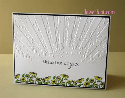 design a flower embossing folder and st set flower foot designs a tribute to lydia