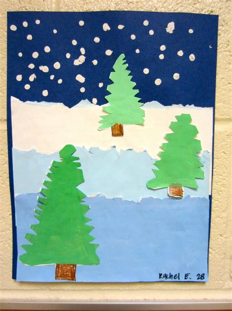foreground background foreground middleground background lesson winter