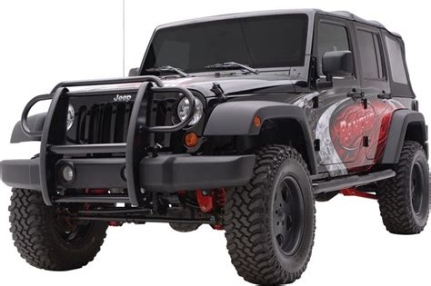 Jeep Wrangler Guards Aries Automotive 1050 Aries Automotive Grill Guard In