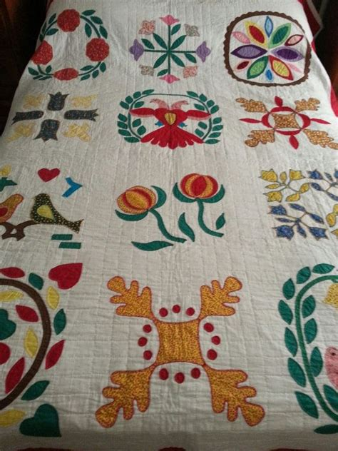 Handmade Applique Quilts - pennsylvania handmade applique quilt