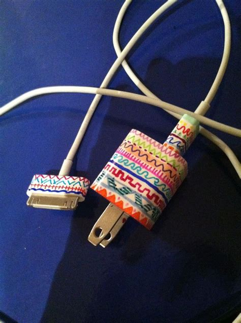 diy phone charger diy cord wraps for headphones and chargers trusper