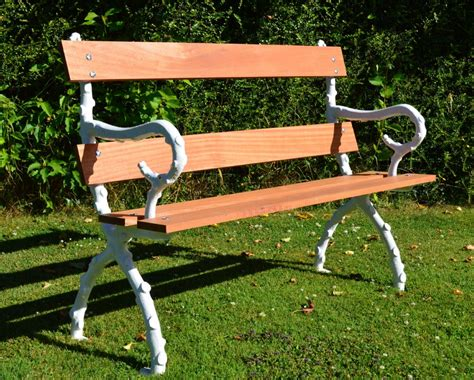 victorian garden bench victorian bristol wagon works cast iron hardwood branch